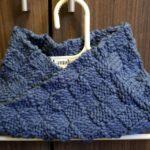 [編み物]少ない毛糸でスヌード作り