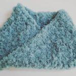 [編み物]少ない毛糸でスヌード作り-その2[子供用]